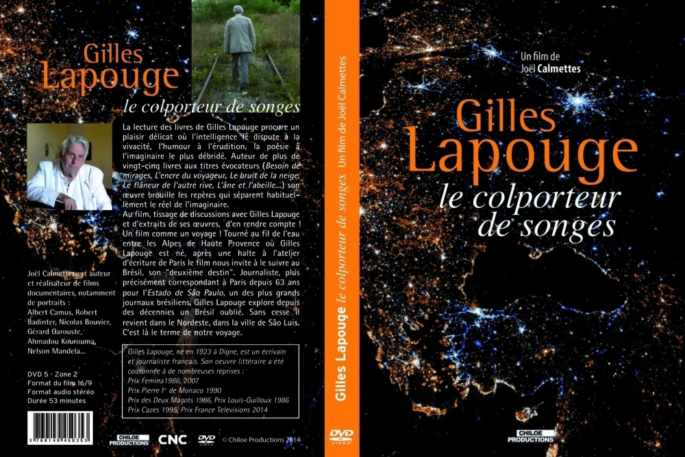 Gilles Lapouge, le colporteur de songes - Chiloé Productions